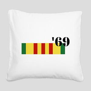 Vietnam 69 Square Canvas Pillow