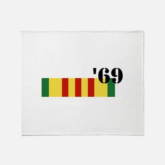 Vietnam 69 Throw Blanket