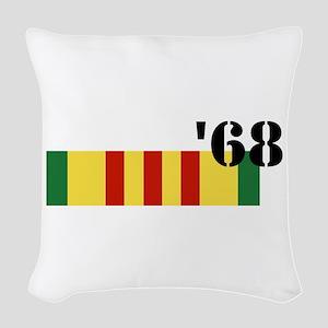 Vietnam 68 Woven Throw Pillow
