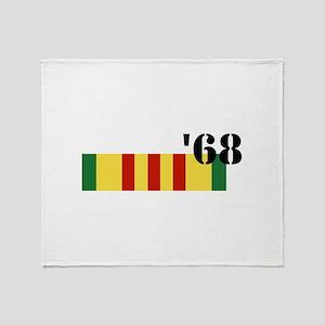 Vietnam 68 Throw Blanket