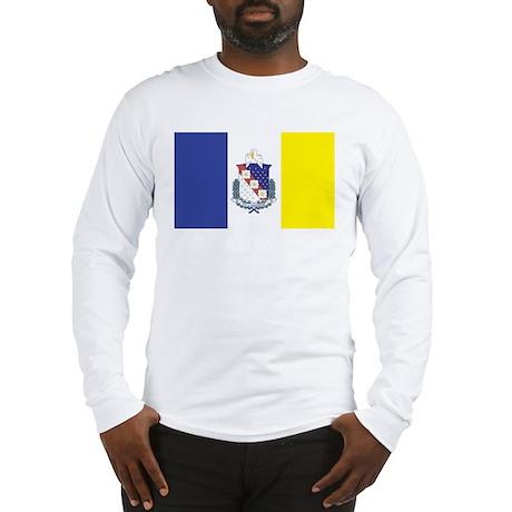 Shreveport Flag Long Sleeve T-Shirt