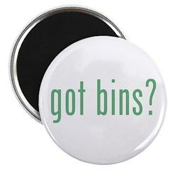 got bins? Magnet