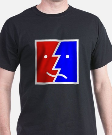 comedy tragedy square 01 T-Shirt