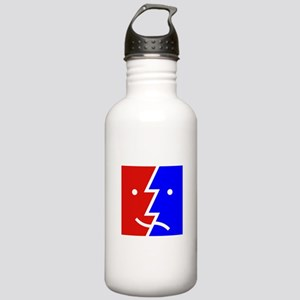 comedy tragedy square Stainless Water Bottle 1.0L