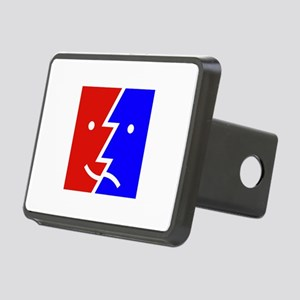 comedy tragedy square 01 Rectangular Hitch Cover