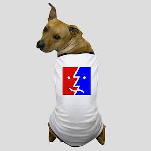 comedy tragedy square 01 Dog T-Shirt