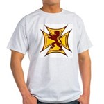 Royal Scottish Biker Cross Light T-Shirt