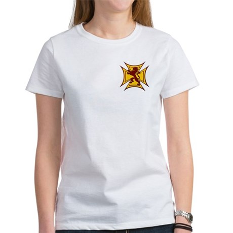Royal Scottish Biker Cross Women's T-Shirt
