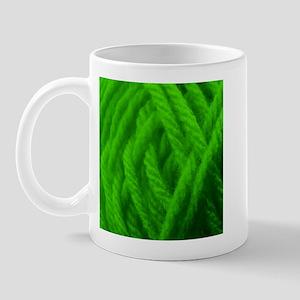 Green Yarn Ball - Crafty Mug