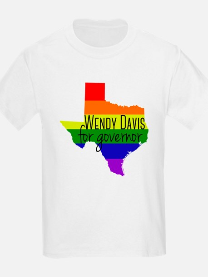 Wendy Davis Rainbow T-Shirt