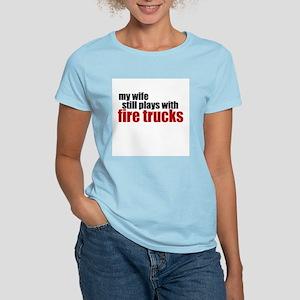 my wife still plays T-Shirt
