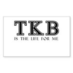 TKB Is The Life For Me Sticker