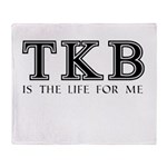TKB Is The Life For Me Throw Blanket