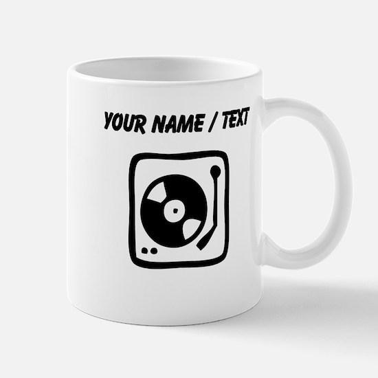 Custom Record Player Mugs