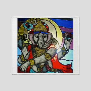 Ganesh II Throw Blanket