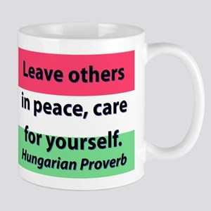 Leave Others In Peace Mugs