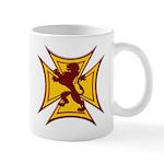 Royal Scottish Biker Cross Coffee Mug