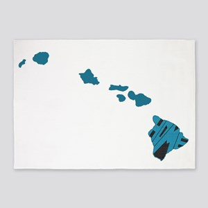 Hawaii Home 5'x7'Area Rug