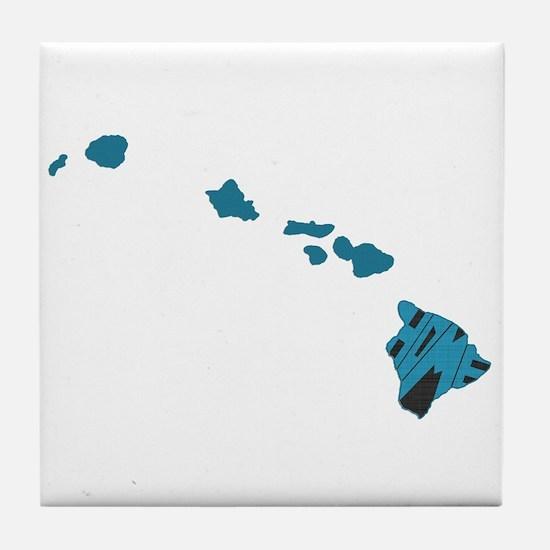 Hawaii Home Tile Coaster