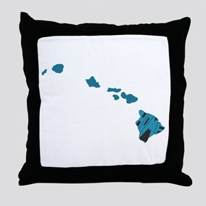 Hawaii Home Throw Pillow