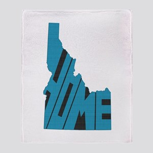 Idaho Home Throw Blanket