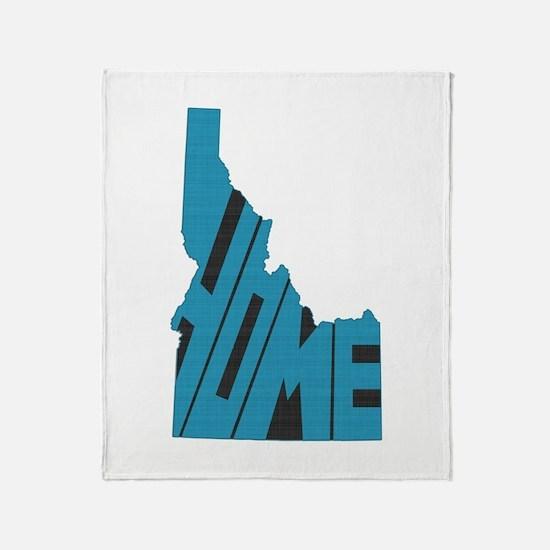 Idaho Home Throw Blanket