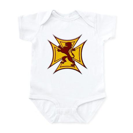 Royal Scottish Biker Cross Infant Bodysuit