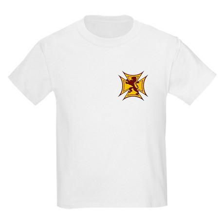 Royal Scottish Biker Cross Kids Light T-Shirt