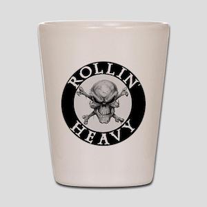 Rollin Heavy Logo Shot Glass