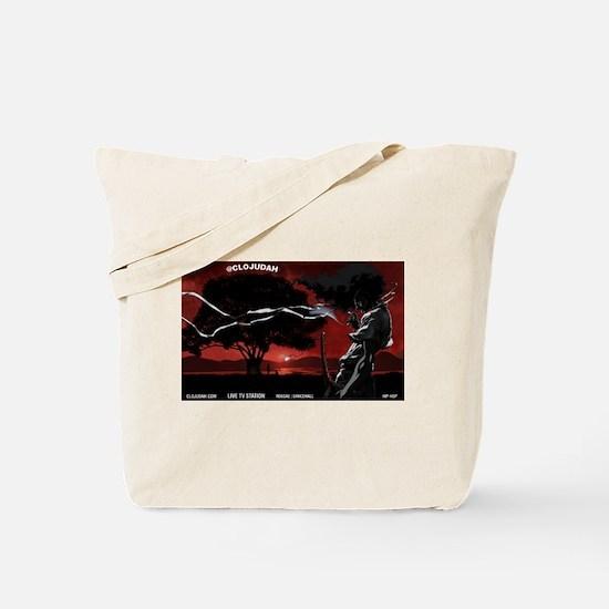 CLOJudah Samurai Tote Bag