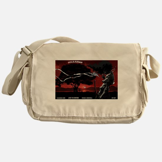 CLOJudah Samurai Messenger Bag