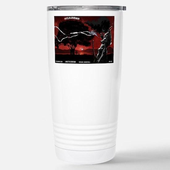 CLOJudah Samurai Travel Mug