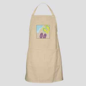 Sandles In Sand Apron
