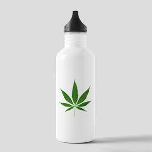 Pot Leaf Water Bottle