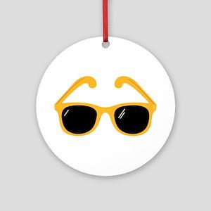 Sunglasses Ornament (Round)