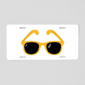 Sunglasses Aluminum License Plate