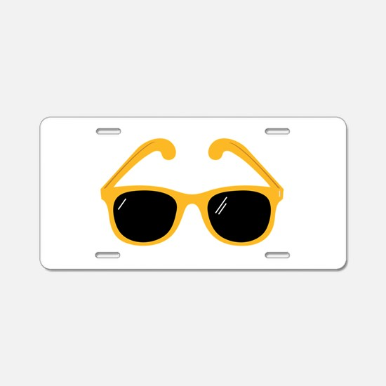 Sunglasses Aluminum License Plate