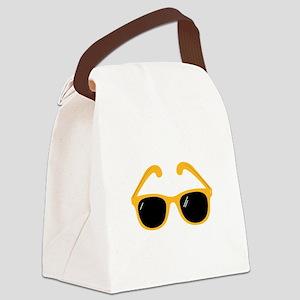 Sunglasses Canvas Lunch Bag