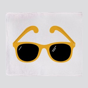Sunglasses Throw Blanket