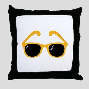 Sunglasses Throw Pillow