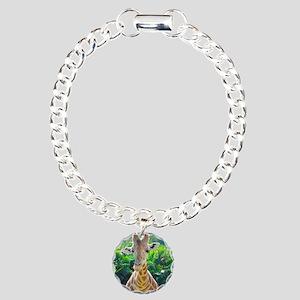 GIRAFFE LOVE Charm Bracelet, One Charm