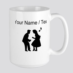 Custom Couple Dancing Mugs