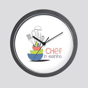 Chef in Training Wall Clock