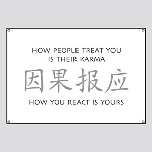 How You React Is Yours Banner