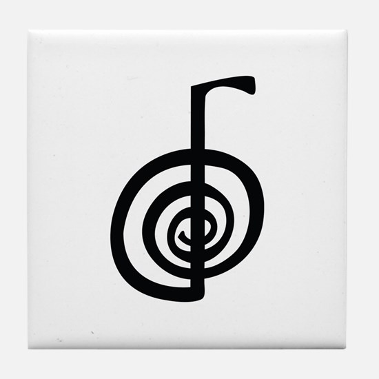ChoKu Rei Reiki Tile Coaster