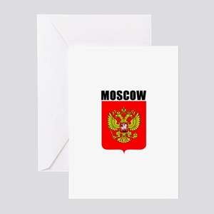 Moscow, Russia Greeting Cards (Pk of 10)