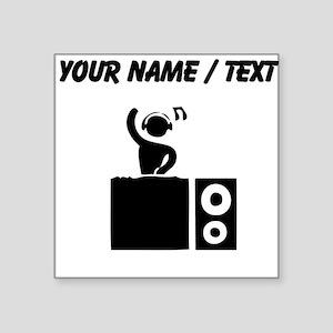 Custom DJ Booth Sticker