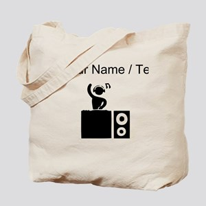 Custom DJ Booth Tote Bag