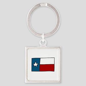 Texas Flag Keychains