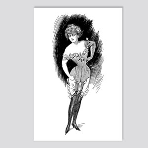 Corset & Garters Postcards (Package of 8)